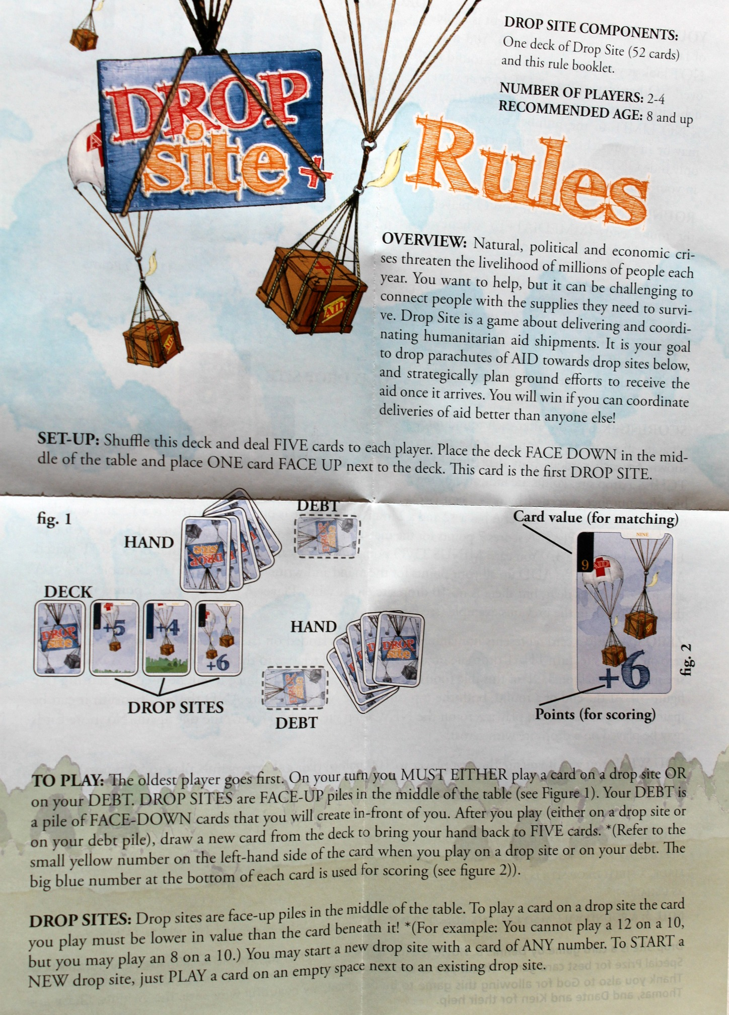 Drop Site rules side A