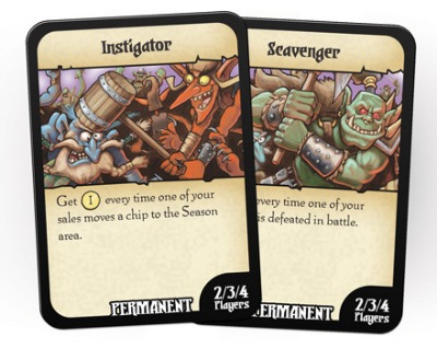 cards for battle merchants game