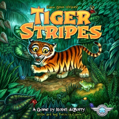 tiger stripes by isabel dubarry