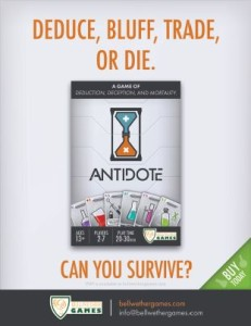 antidote flyer