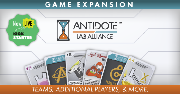 Antidote: Lab Alliance live on Kickstarter